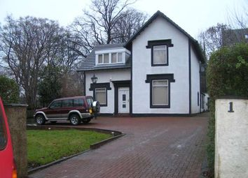 Thumbnail 4 bed detached house to rent in Woodlands Road, Thornliebank, Glasgow