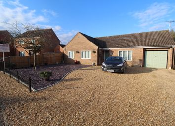 Thumbnail 3 bed detached bungalow for sale in Hawthorn Walk, Beck Row, Bury St. Edmunds
