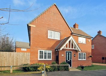 Thumbnail 4 bedroom detached house for sale in Hawthorn Road, Brixworth, Northampton