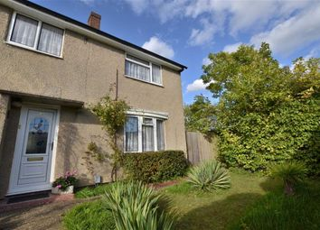 Thumbnail 3 bedroom end terrace house for sale in Marymead Court, Broadwater, Stevenage, Herts