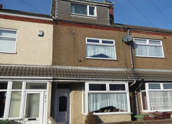 Thumbnail 4 bed terraced house for sale in Neville Street, Cleethorpes