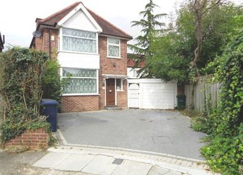 Thumbnail 4 bedroom detached house to rent in Beechwood Close, Mill Hill