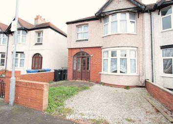 Thumbnail 3 bed semi-detached house for sale in Garnett Avenue, Rhyl