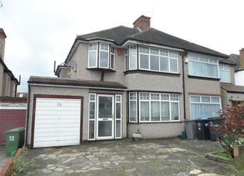 Thumbnail 3 bedroom semi-detached house to rent in Valley Drive, London
