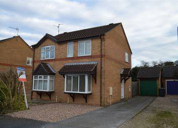 Thumbnail 2 bedroom semi-detached house for sale in Pocklington Way, Heckington, Sleaford