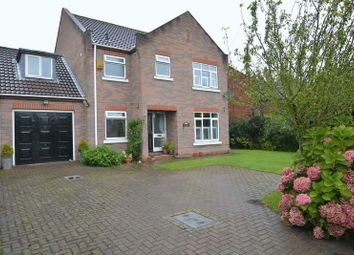 Thumbnail 4 bed detached house for sale in Main Street, South Duffield, Selby