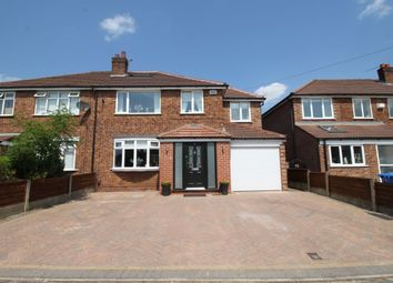 Thumbnail 5 bed semi-detached house for sale in Buckfast Road, Sale