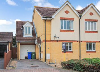 Thumbnail 3 bed semi-detached house for sale in Marsh Rise, Kemsley, Sittingbourne, Kent