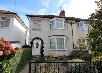 Thumbnail 3 bed semi-detached house for sale in Farington Road, Henleaze, Bristol
