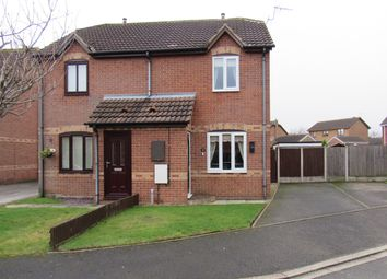 Thumbnail 2 bed semi-detached house for sale in Dean Close, Doncaster