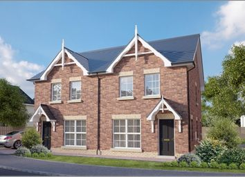 Thumbnail 3 bedroom semi-detached house for sale in Claremont At River Hill, Bangor Road, Newtownards