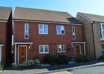Thumbnail 2 bed semi-detached house for sale in Royal Architects Road, East Cowes