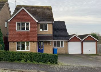 Thumbnail 4 bed detached house to rent in Draymans Way, Ipswich