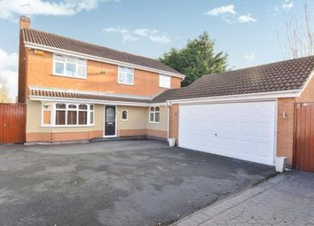 Thumbnail 4 bed detached house for sale in Swallow Drive, Syston, Leicester, Leicestershire