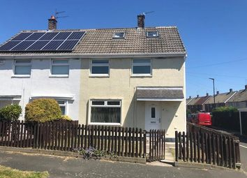 Thumbnail 2 bed semi-detached house for sale in Coach Road Estate, Washington, Tyne And Wear