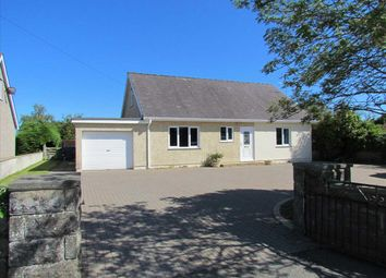 Thumbnail 4 bed detached bungalow for sale in Llangaffo, Gaerwen