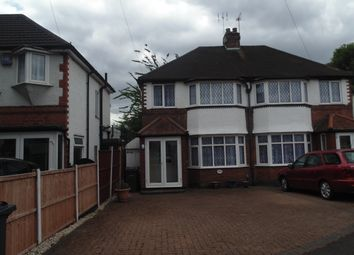 Thumbnail 3 bed semi-detached house to rent in Teddington Grove, Great Barr