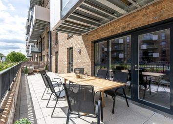 Thumbnail 1 bed flat for sale in Purbeck Gardens, London