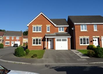 Thumbnail 4 bed detached house to rent in Pwll Yr Allt, Tir-Y-Berth, Hengoed