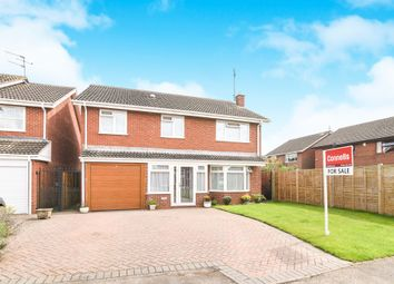 Thumbnail 4 bed detached house for sale in Short Lane, Long Itchington, Southam