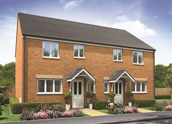 "Thumbnail 3 bed semi-detached house for sale in ""The Chester"" at Churchfields, Hethersett, Norwich"