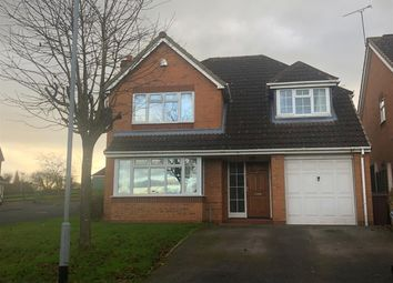 Thumbnail 4 bed detached house to rent in Lara Close, Stafford