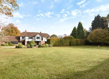 Thumbnail 5 bedroom detached house for sale in Shrubbs Hill, Chobham, Woking, Surrey