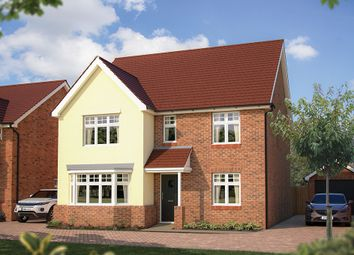 "Thumbnail 5 bed detached house for sale in ""The Walton"" at London Road, Calverton, Milton Keynes"