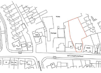 Thumbnail Land for sale in 187 Heath End Road, Nuneaton, Warwickshire