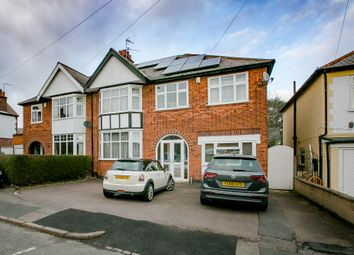 Thumbnail 4 bed semi-detached house for sale in Westleigh Avenue, Leicester