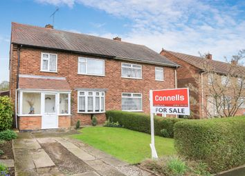 Thumbnail 3 bedroom semi-detached house for sale in Wentworth Road, Bushbury, Wolverhampton
