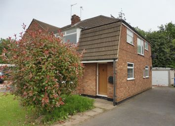 Thumbnail 3 bed semi-detached house for sale in Hathern Close, Sunnyhill, Derby