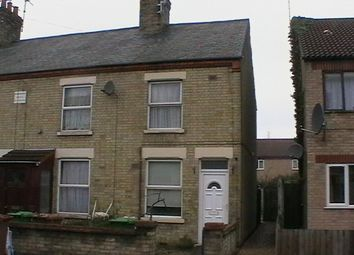 Thumbnail 2 bed end terrace house to rent in Dogsthorpe Road, Peterborough