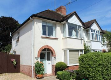 Thumbnail 3 bed semi-detached house for sale in Drakes Avenue, Sidford, Sidmouth