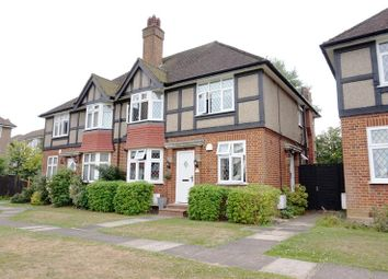Thumbnail 2 bed maisonette to rent in Tregenna Close, Chase Road, London