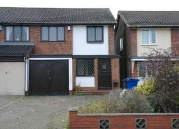 Thumbnail 3 bed property to rent in Hollygrove Lane, Burntwood