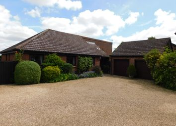 Thumbnail 4 bed detached bungalow for sale in Straight Road, Battisford