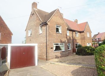 Thumbnail 3 bed semi-detached house to rent in Edinburgh Road, Worksop, Nottingham