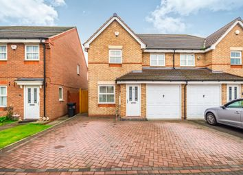 Thumbnail 3 bed semi-detached house for sale in St. Christopher Drive, Wednesbury