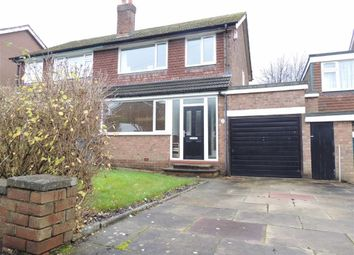 Thumbnail 3 bedroom semi-detached house for sale in Fairview Drive, Marple, Stockport