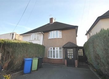 Thumbnail 2 bed semi-detached house to rent in Baden Powell Road, Chesterfield, Derbyshire