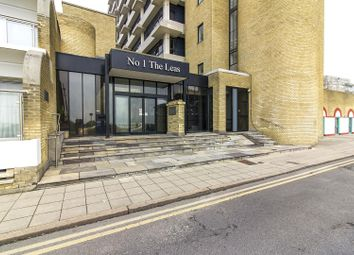 Thumbnail 1 bed flat for sale in The Leas, Folkestone