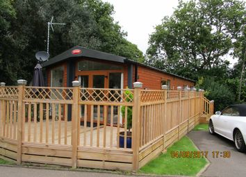 Thumbnail 2 bed lodge for sale in Edgeley Country Park, Farley Green, Albury, Guildford