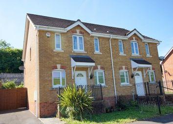 Thumbnail 3 bed semi-detached house for sale in 15, Cwrt Pant Yr Pant Awel, Lewistown, Bridgend, Bridgend