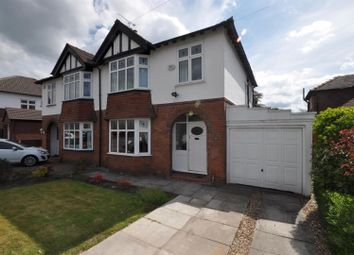 Thumbnail 3 bed semi-detached house for sale in Sandileigh, Hoole, Chester