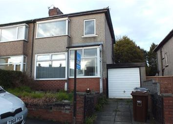 Thumbnail 3 bed semi-detached house to rent in Clough Road, Nelson