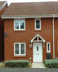 Thumbnail 3 bedroom semi-detached house to rent in Pear Tree Way, Wellington