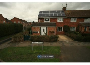 Thumbnail 3 bedroom semi-detached house to rent in Abbots Road, Pershore
