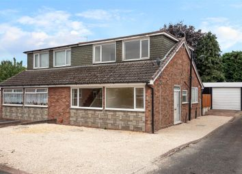 Thumbnail 3 bed semi-detached house for sale in Balmoral Drive, Hednesford, Cannock