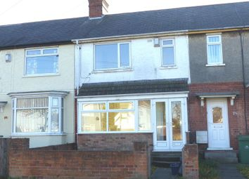 Thumbnail 3 bedroom terraced house to rent in St. Michaels Road, Grimsby